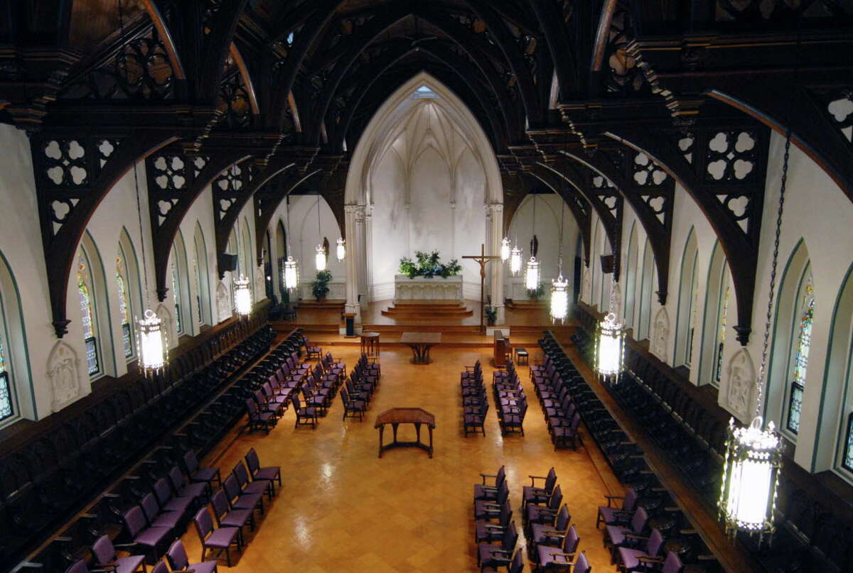 The chapel in the old Doane Stuart campus and Kenwood Convent on Oct. 30, 2009, in Albany, N.Y. (Michael P. Farrell/Times Union archive)