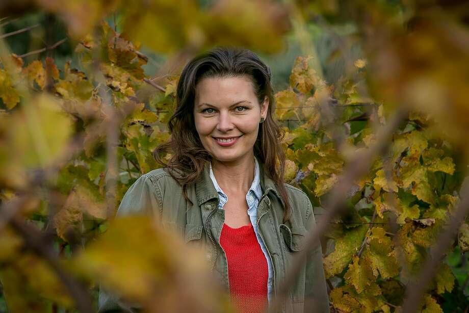 Winemaker Johanna Jensen of Keep Wines. Photo: John Storey, Special To The Chronicle