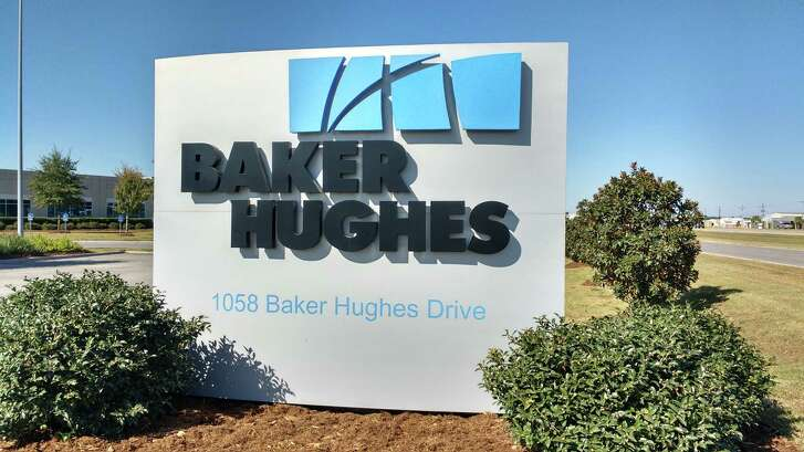 General Electric is talking with Houston-based Baker Hughes about potential partnerships.Neither company would discuss details on Friday, Oct. 28, 2016, but analysts said the option with the biggest potential would be combining GE's oil and gas division with Baker Hughes and spinning out an entirely new company. This Baker Hughes office is in Broussard, Louisiana.