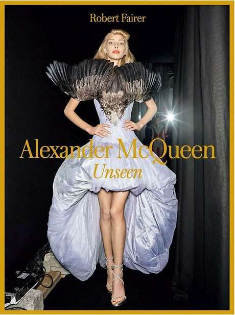 """Alexander McQueen: Unseen"" by Robert Fairer (Yale University Press, 352 pages, $65). Photo: Yale University Press"
