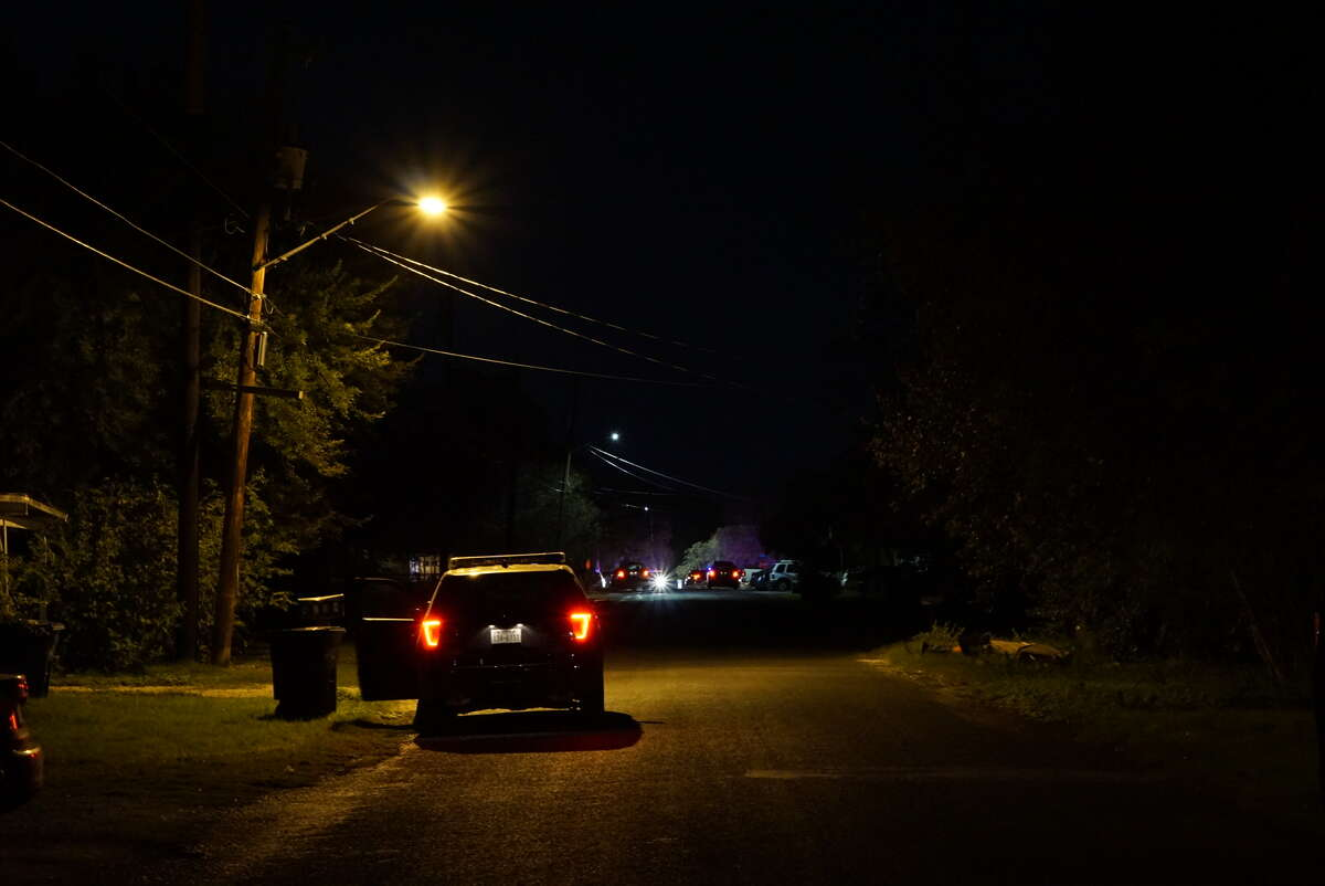 San Antonio Police Department investigators said a man was shot Nov. 29, 2016 in a different location before running to a home at about 9:30 p.m. in the 5400 block of Sherry Drive.