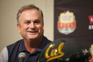University of California head coach Sonny Dykes during a press conference at the Bay Area Football Media Day on Thursday, July 28, 2016 at Levi Stadium in Santa Clara.