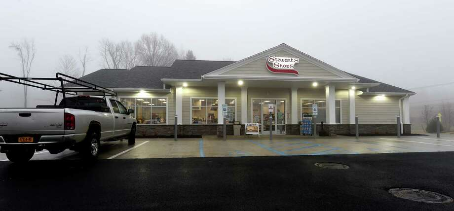 Exterior view of the new Stewart's Shop at 15 Round Lake Road Wednesday Nov. 30, 2016 in Round Lake, N.Y.   (Skip Dickstein/Times Union) Photo: SKIP DICKSTEIN / 20038992A