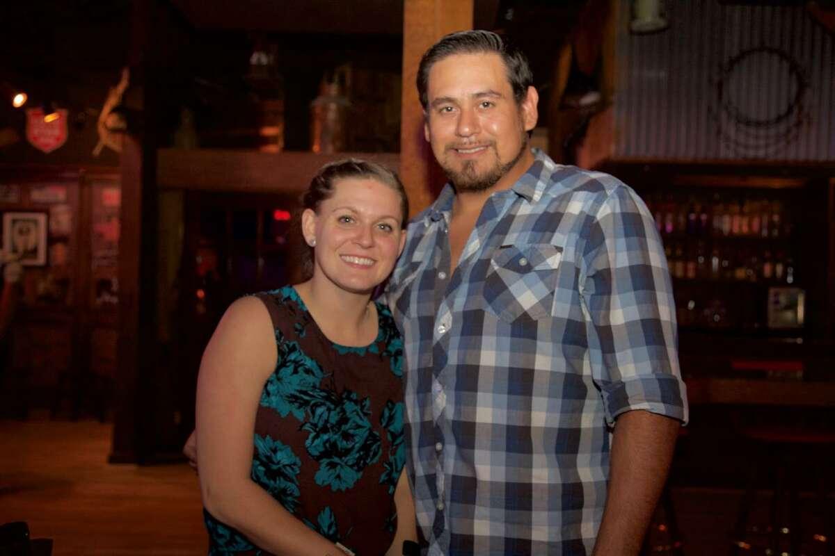 Heidi Zapata and Roy Garza are at Big Texas Icehouse.