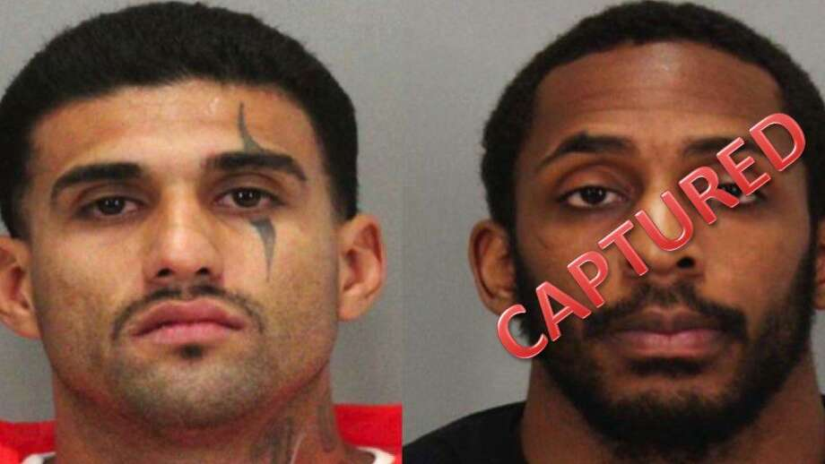 Laron Campbell, pictured left, was captured after he and Rogelio Chavez escapted from the Santa Clara County Main Jail last week. Photo: Santa Clara County Sheriff's Office / /