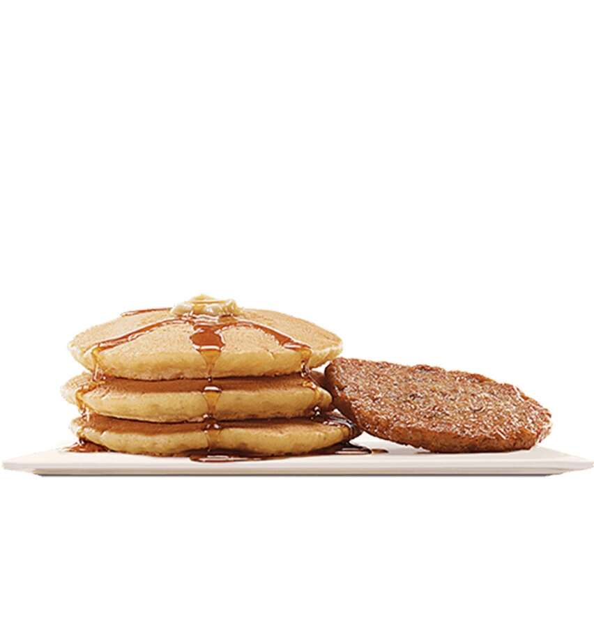 "Burger King's Large Pancakes are enhanced with a ""hint of vanilla."" Photo: Burger King"