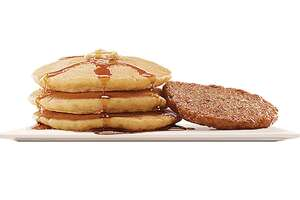 """Burger King's Large Pancakes are enhanced with a """"hint of vanilla."""""""