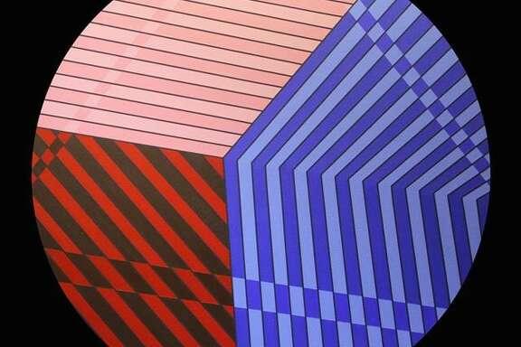 """Eric Ockrassa: Ocular Resistance"" is on view at Zoya Tommy Gallery."