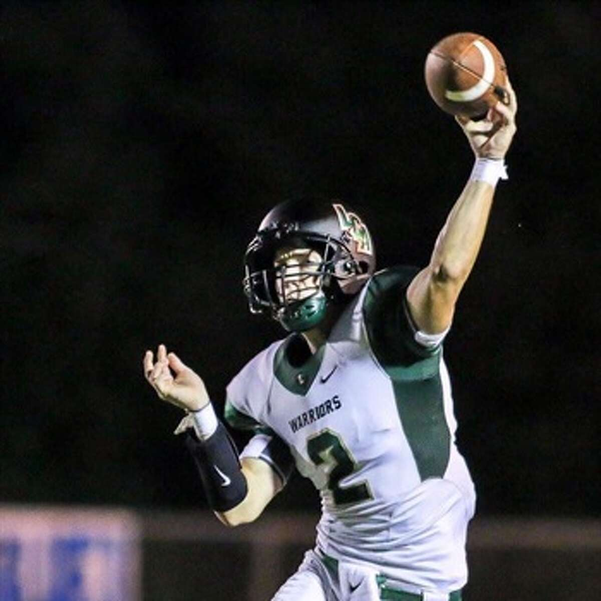 Holden Reese School: Legacy Christian Position: QBNotes: Reese threw for 156 yards, rushed for 108 yards with two touchdowns as the Warriors defeated defending state champion Northland Christian, 41-25.