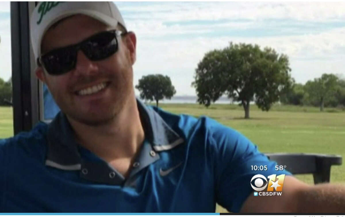 A barbaric attack on the Indian Creek golf course in Carrollton, Texas left one man bloodied with a brain injury and broken ribs.