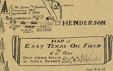 Old Map Of Texas.Old Map Of Texas Oilfields Is A Trip Through Time Houston Chronicle