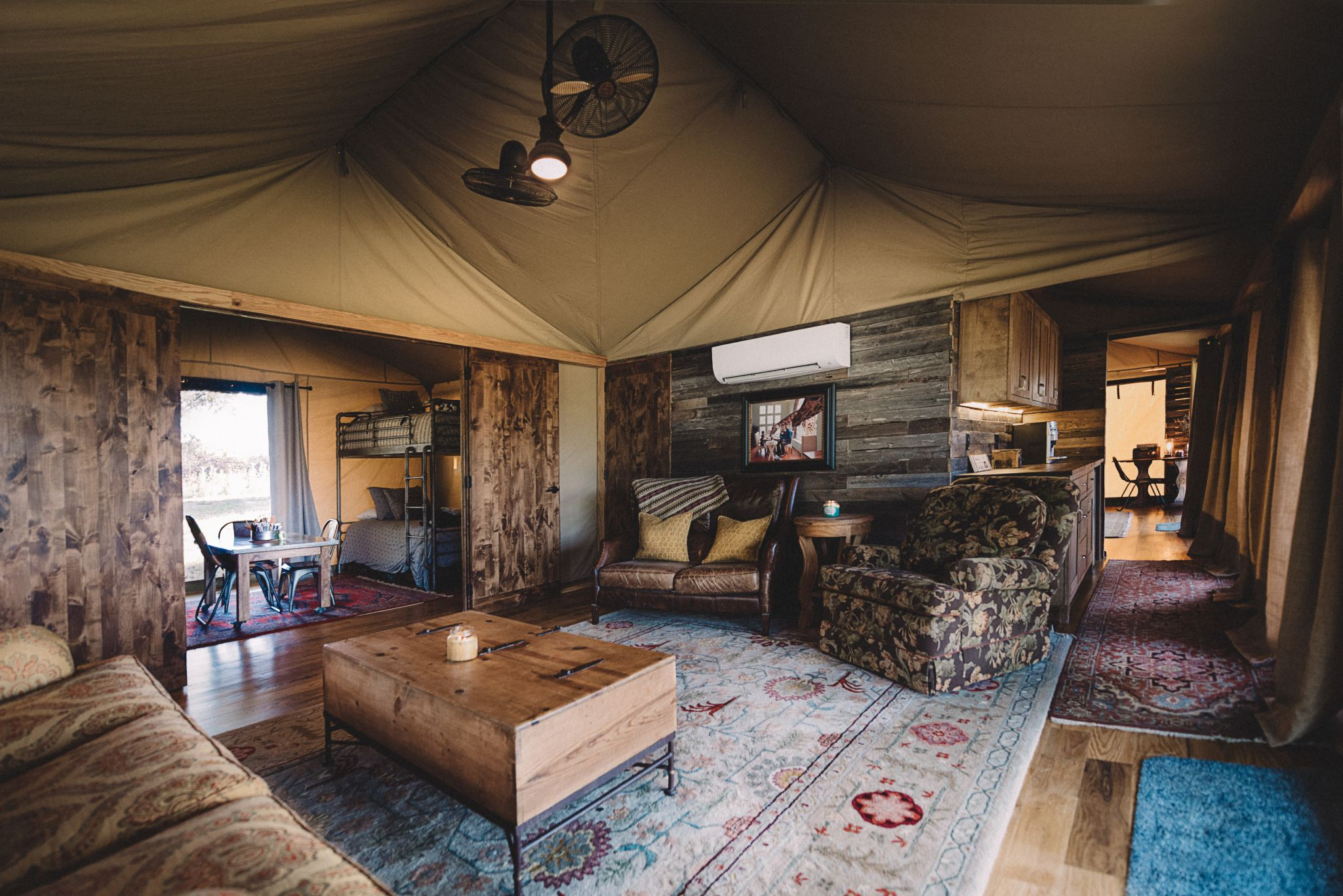 This Deluxe North Texas Tent Home Looks Rather Inviting