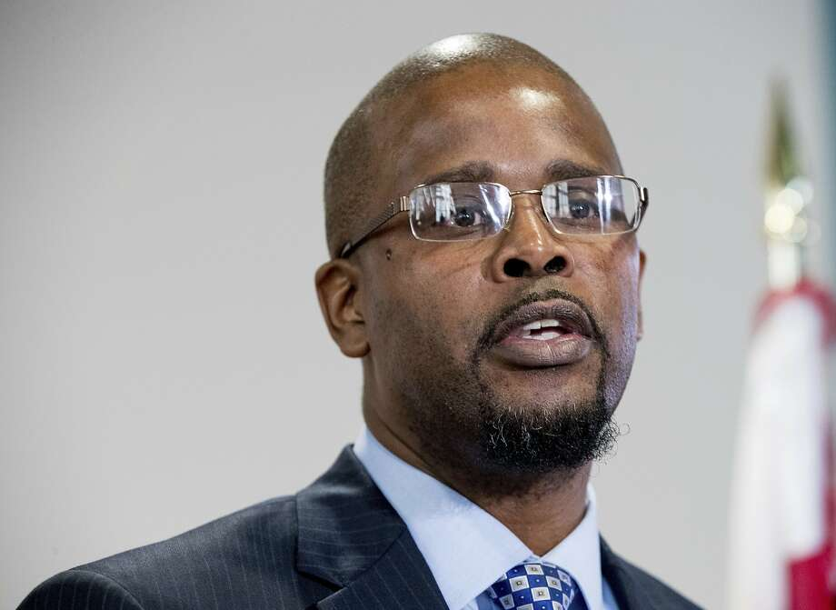 Antwan Wilson will leave the job in Oakland at the end of the month to take a similar post in Washington, D.C. Photo: Andrew Harnik, Associated Press