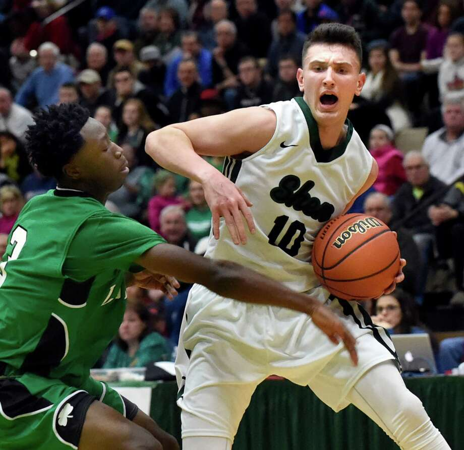 Luke Hicks, Sr., G, Shenendehowa: Took his offensive game up several notches as a junior to help propel the Plainsmen to a second straight Section II Class AA title. (Cindy Schultz / Times Union) Photo: Cindy Schultz / Albany Times Union