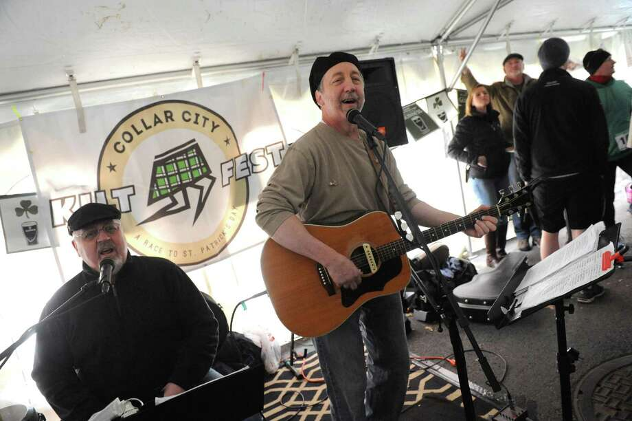 The Brothers Flynn Bill Flynn, left, and Tom Flynn perform during the Collar City Kilt Fest  on Saturday March 5, 2016 in Troy, N.Y.  (Michael P. Farrell/Times Union) Photo: Michael P. Farrell / 10035167A