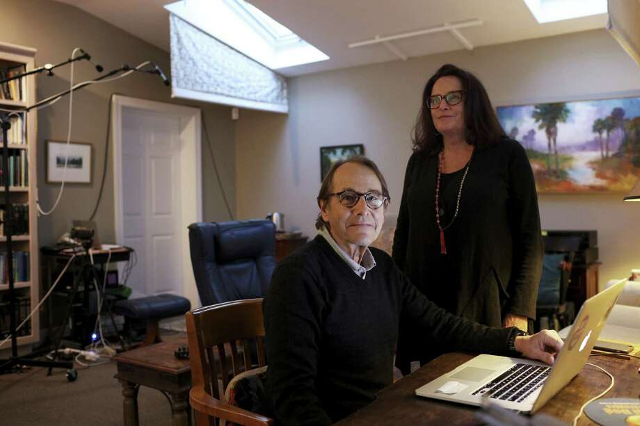 Dr. Michael Mithoefer, a psychiatrist, and his wife, Ann, a psychiatric nurse, in their office in Mount Pleasant, S.C., Nov. 10, 2016. The couple is leading a study on the use of MDMA, also known as Ecstasy, as a treatment for PTSD. ÒEach person has an innate ability to heal. We just create the right conditions,Ó Ann said. (Travis Dove/The New York Times) Photo: TRAVIS DOVE, STR / NYT / NYTNS