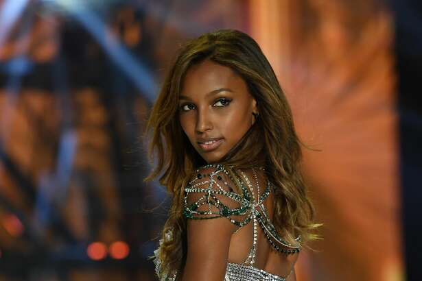 Jasmine Tookes walks the runway during the 2016 Victoria's Secret Fashion Show.