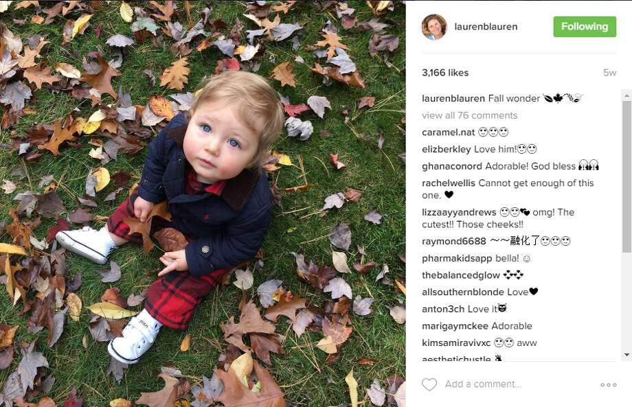 James Lauren Photo: Lauren Bush Lauren/Instagram