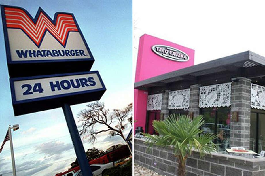 whataburger and taco cabana Photo: Mysa