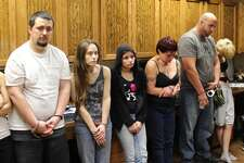 Four family members were arrested by theMontgomery County Precinct 5 Constable's Office Monday, Nov. 28, 2016.