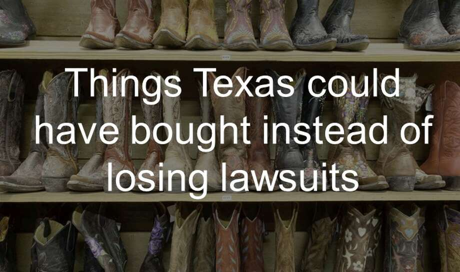 Things Texas could have bought instead of losing lawsuits against the Obama administration.  Photo: Getty Images