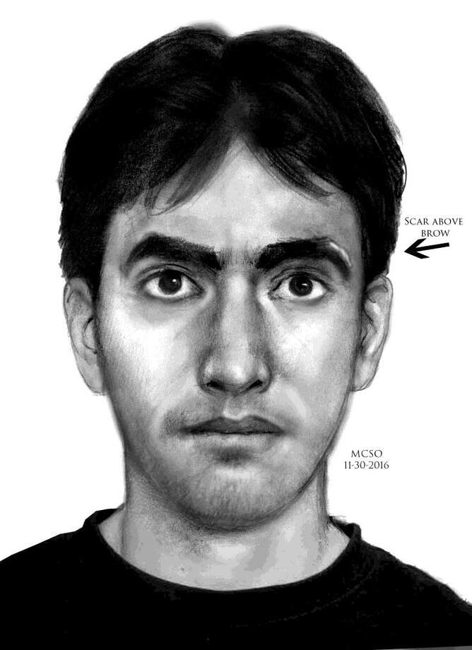 The Montgomery County Sheriff's Office is attempting to identify the following person of interest in regards to the Sexual Assaults which occurred in the 2300 block of South Millbend Drive. Photo: Submitted Art