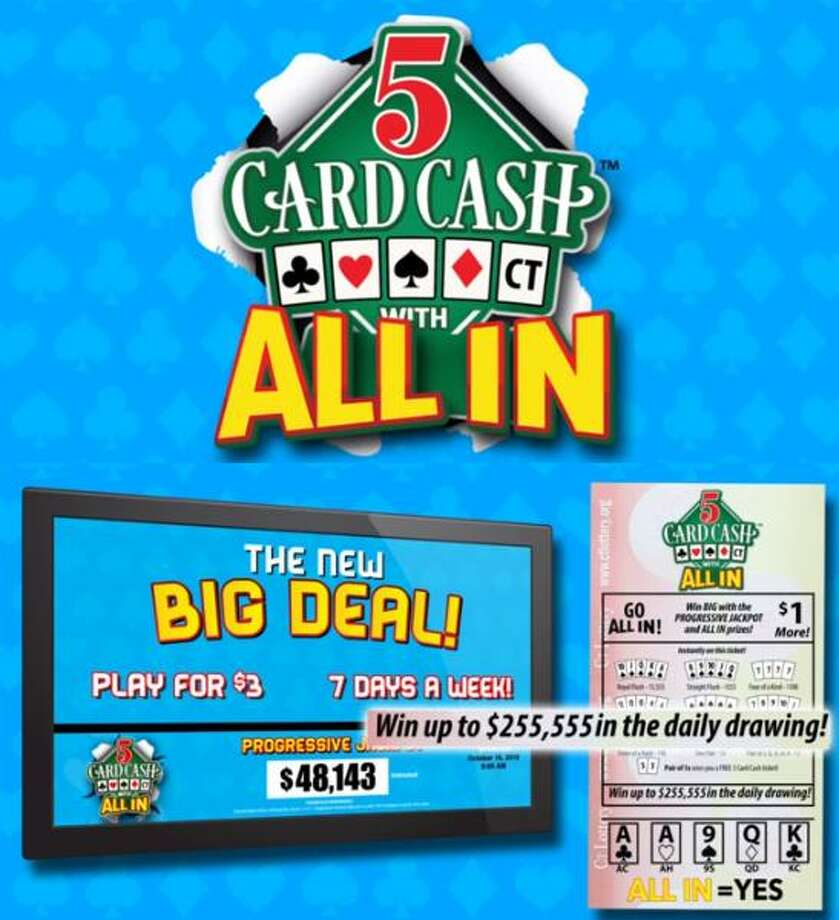 "Connecticut Lottery's ""5 Card Cash"" instant game was terminated last year after a hacking scandal was discovered. Photo: Contributed Photo / Contributed Photo / Connecticut Post Contributed"