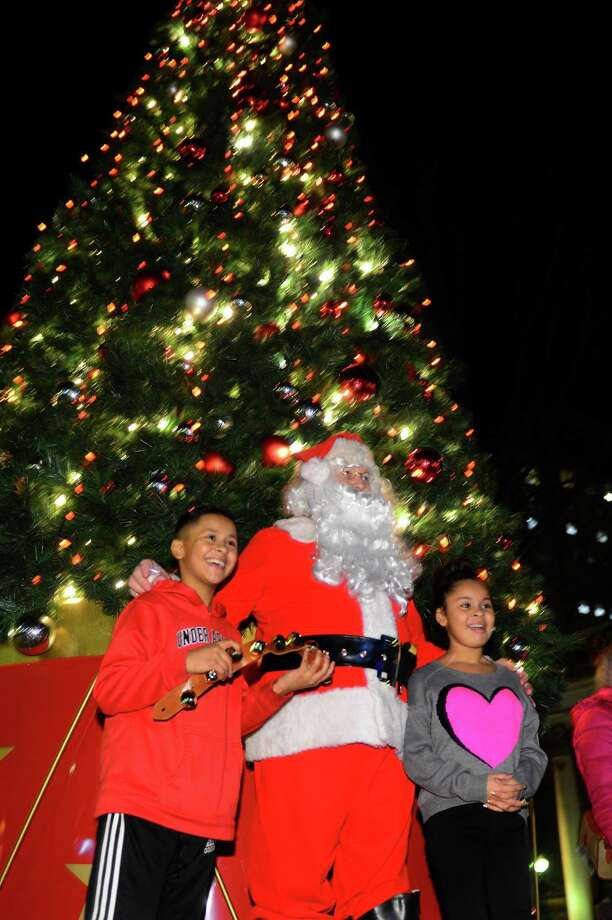 Bridgeport's Christmas tree on McLevy Green in 2015. Photo: Christian Abraham / File Photo / Connecticut Post