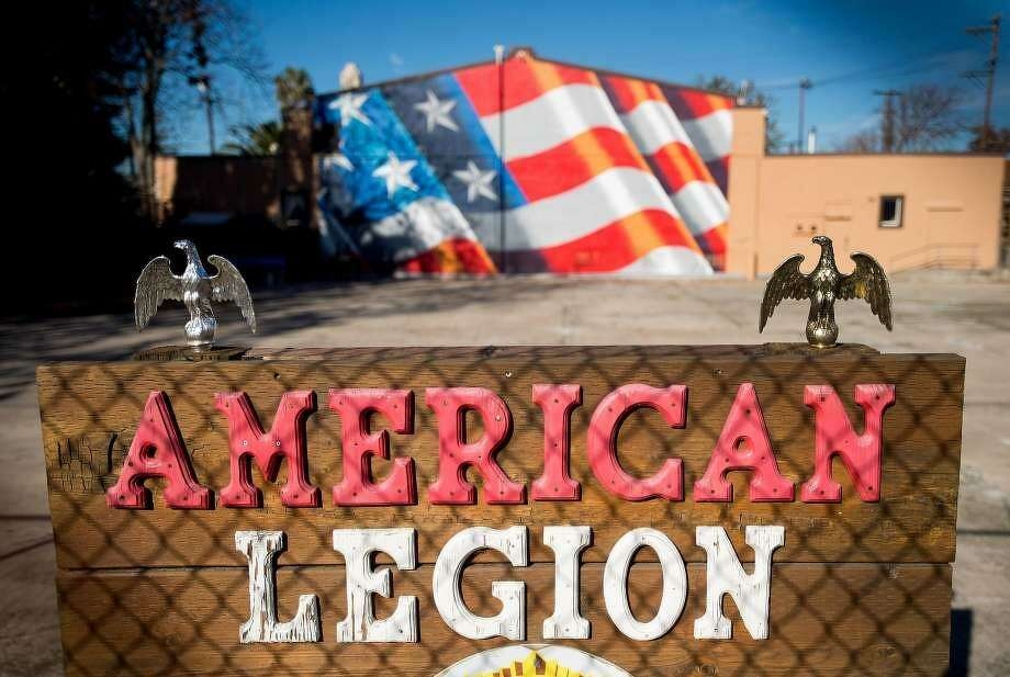 The American Legion Hall in Antioch was the site of a Thanksgiving luncheon where 19 people fell ill. Photo: Noah Berger / Special To The Chronicle / Noah Berger / Special To The Chronicle