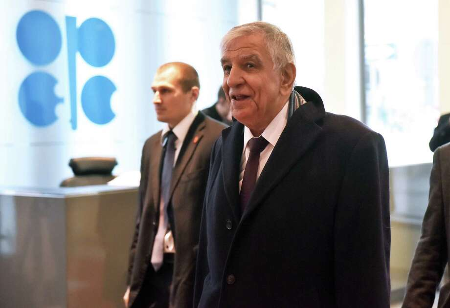 Jabbar al-Luaibi, Iraq's oil minister, arrives for the 171st Organization of Petroleum Exporting Countries (OPEC) meeting in Vienna, Austria, on Wednesday, Nov. 30, 2016. Oil climbed as Iran said it has good expectations for a make-or-break OPEC meeting on stabilizing the crude market. Photographer: Akos Stiller/Bloomberg Photo: Akos Stiller / © 2016 Bloomberg Finance LP
