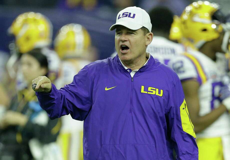 UH could offer a landing spot for Les Miles, who won plenty of games and a national championship at LSU but couldn't keep up with Alabama in recent years. Photo: Brett Coomer, Staff / © 2015 Houston Chronicle