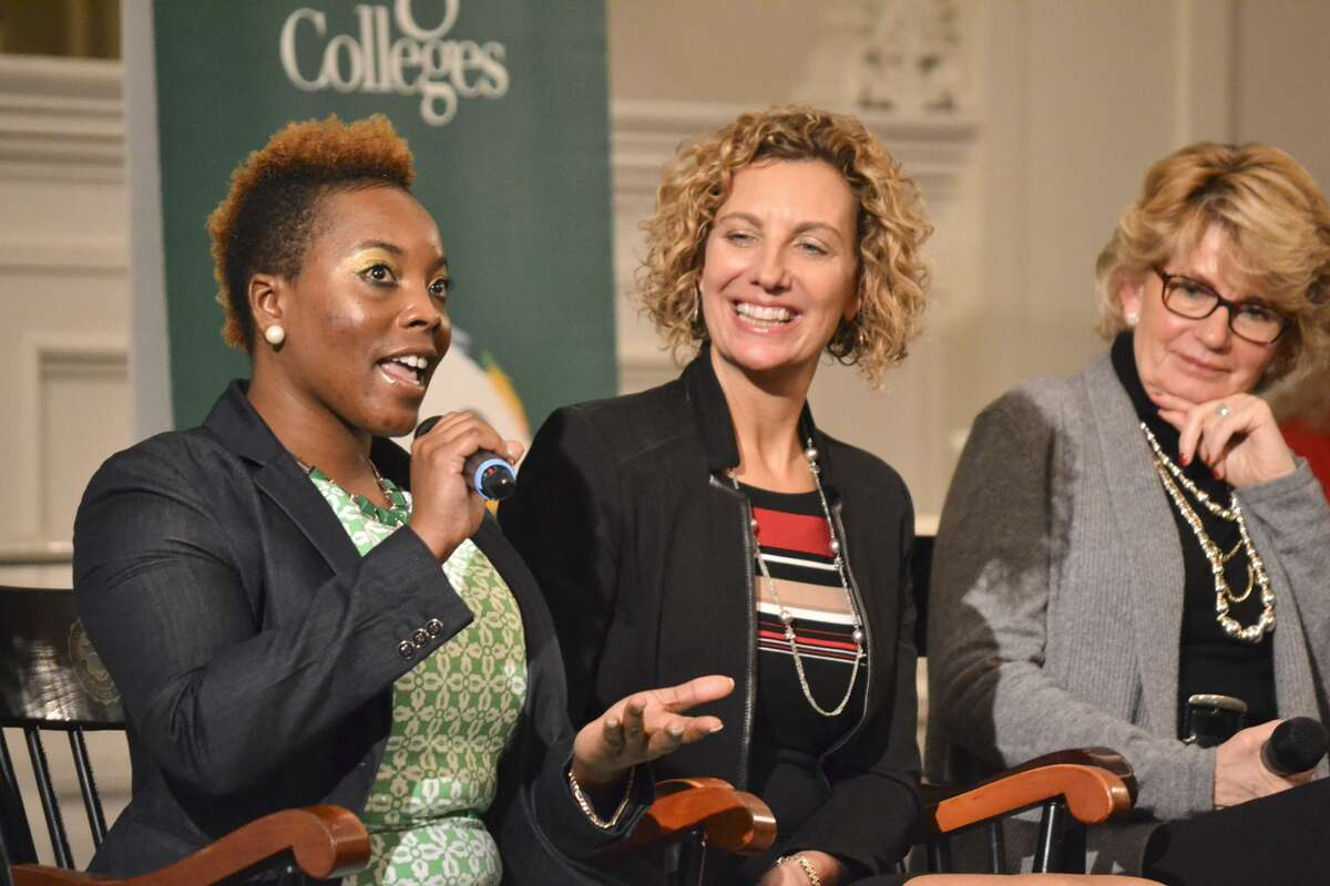 Were you Seen at the Women@Work 'Meet and Mentor' event held at The Sage Colleges' Bush Memorial Center on Wednesday, Nov. 30, 2016?