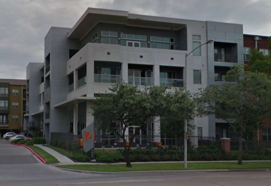 Police are investigating an anti-immigrant flier that was posted in the Avenue R apartment complex in the Galleria area. Photo: Google Street View