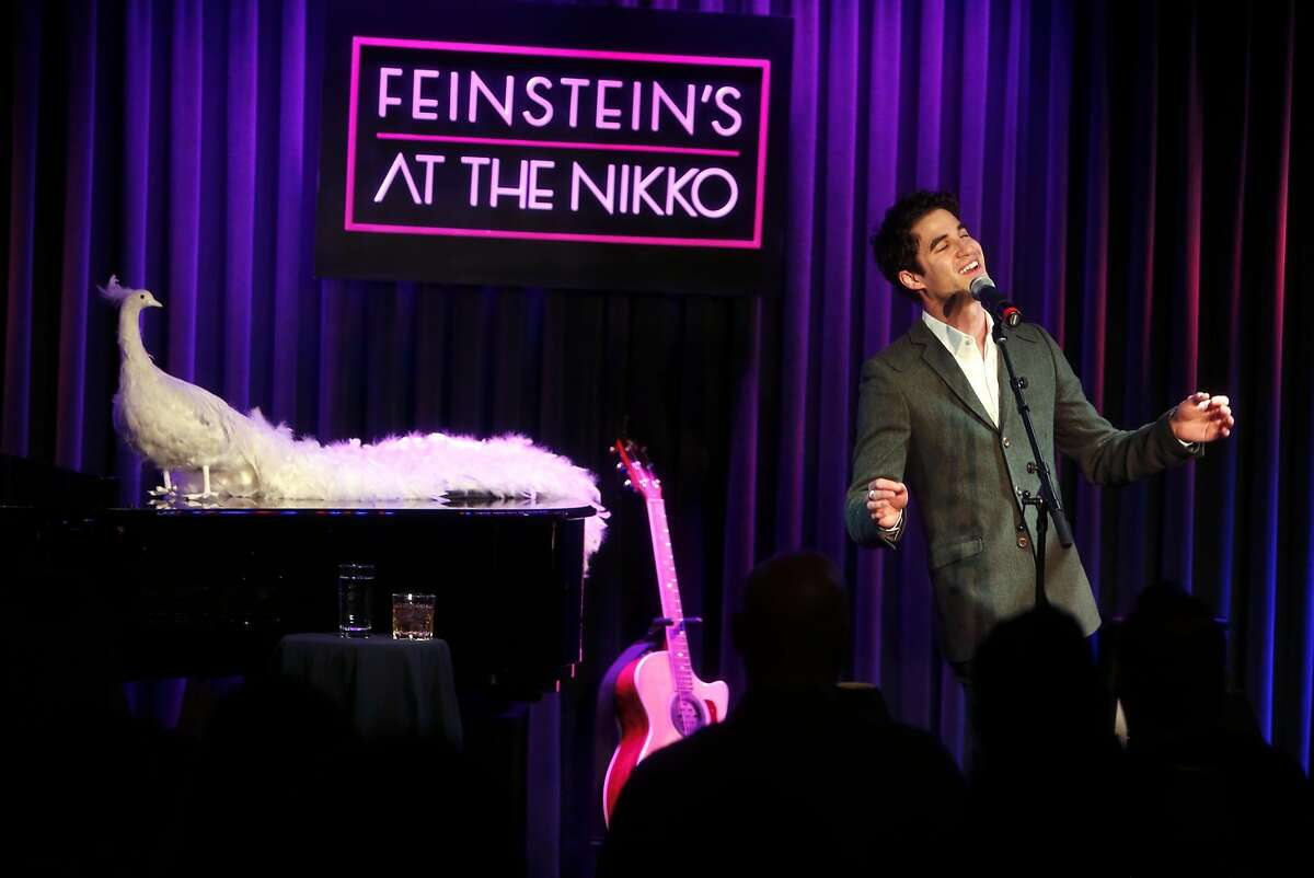 """Former """"Glee"""" star and San Francisco native Darren Criss plays Feinstein's at the Nikko in San Francisco, Calif., on Wednesday, November 30, 2016."""