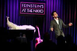 "Former ""Glee"" star and San Francisco native Darren Criss plays Feinstein's at the Nikko in San Francisco, Calif., on Wednesday, November 30, 2016."