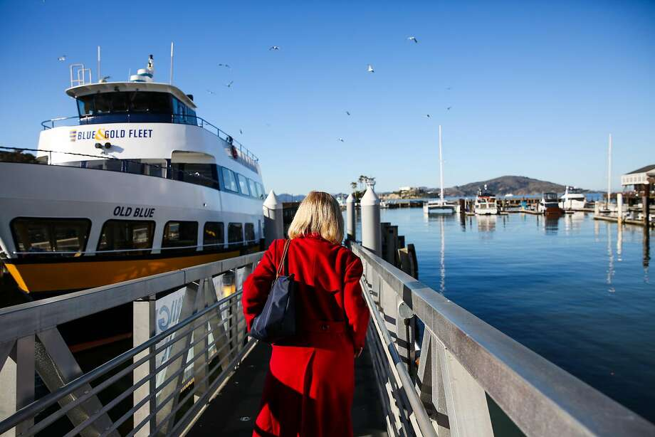 Carolyn Horgan, the retiring president of Blue and Gold fleet at Pier 39. Photo: Gabrielle Lurie, The Chronicle