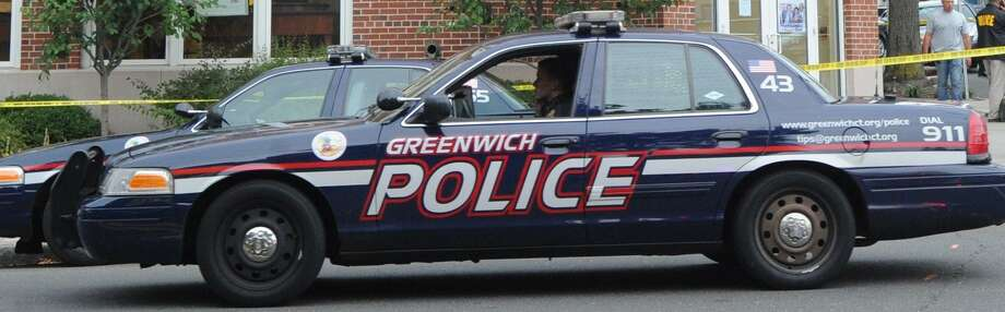 Greenwich Police file photo. Photo: Bob Luckey / Bob Luckey / Greenwich Time