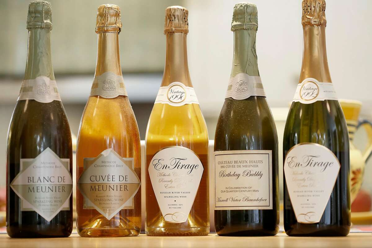 Sparkling wines of Don and Kay Baumhefner.