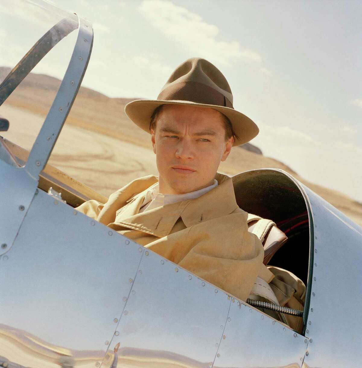 Leonardo DiCaprio as Howard Hughes in 'The Aviator' is still seen as one of Leo's best roles.