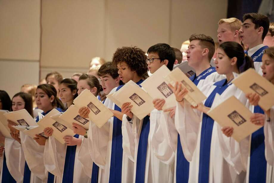 The Youth Choir of the Diocese of Bridgeport performs its Christmas concert last year. Photo: AMY MORTENSEN / AMY MORTENSEN