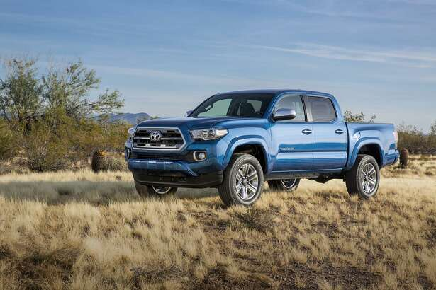 Toyota builds the Tacoma in San Antonio and Baja California, Mexico. Tacoma truck sales soared by more than 15 percent last month over November 2015.