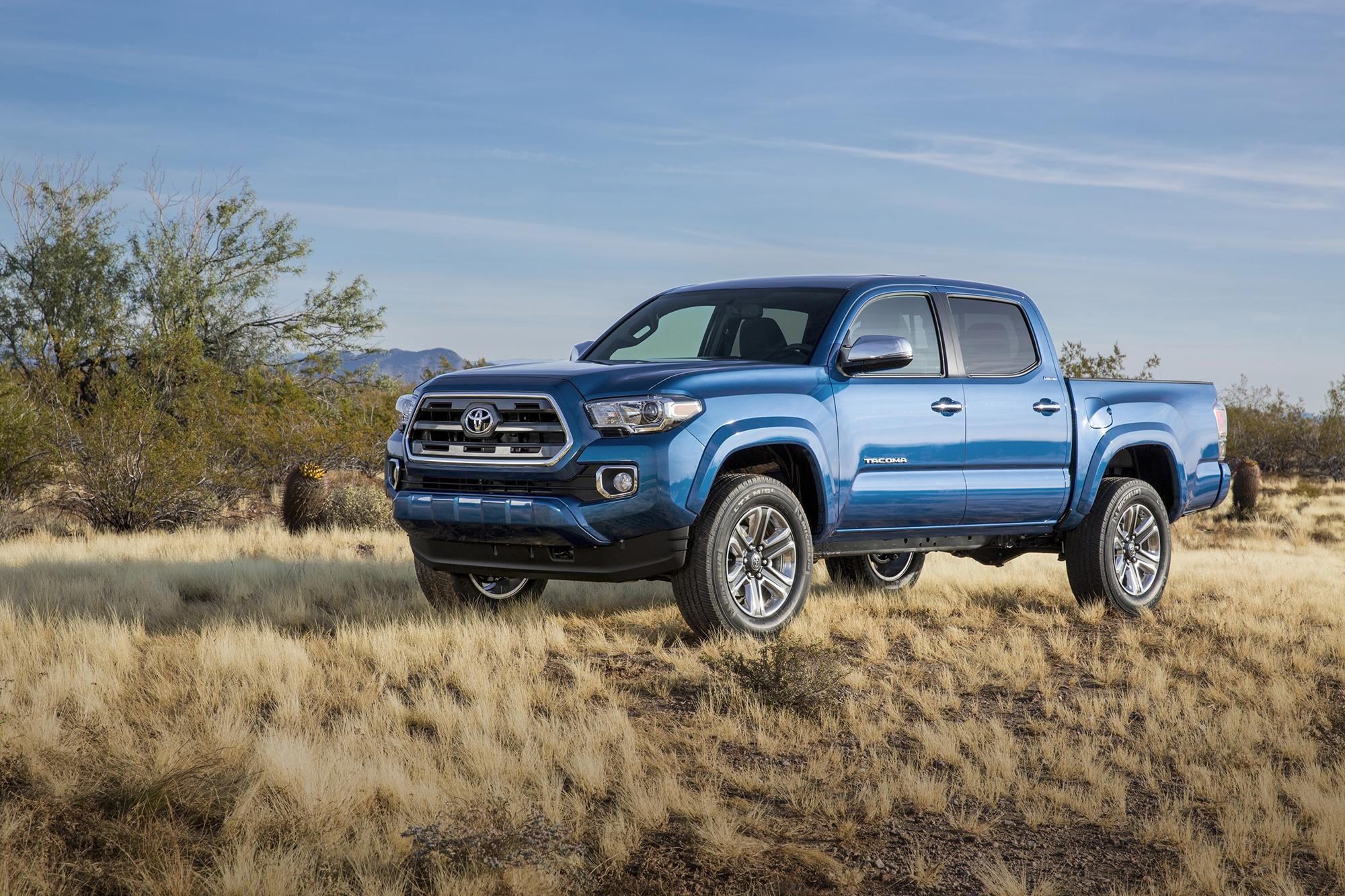 Robust demand for Toyota pickups drives sales unexpectedly higher