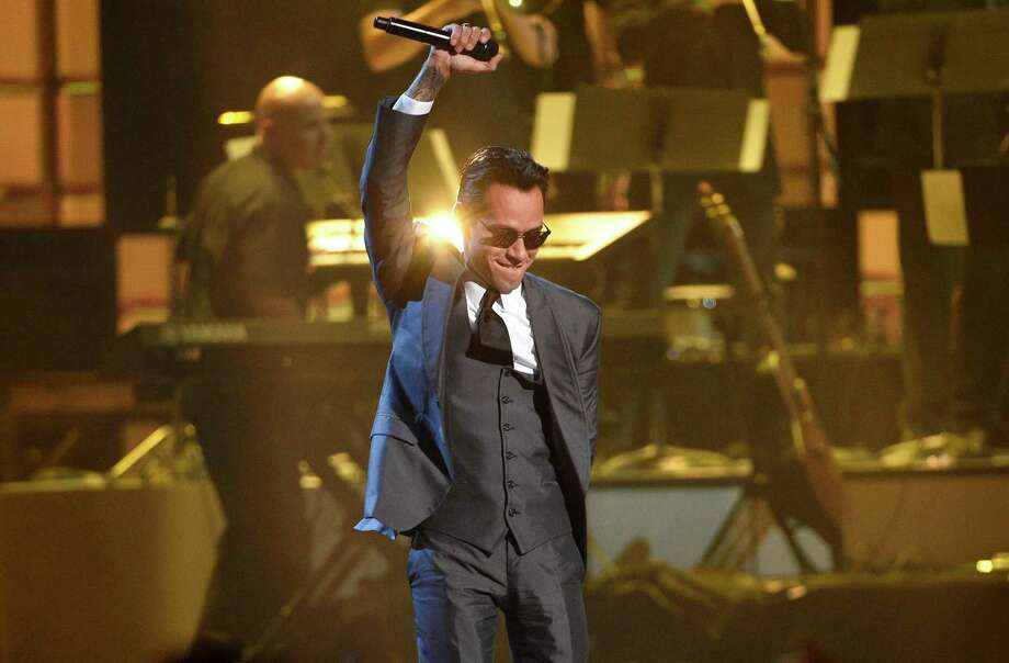 Marc Anthony performs a medley at the 17th annual Latin Grammy Awards at the T-Mobile Arena on Thursday, Nov. 17, 2016, in Las Vegas. (Photo by Chris Pizzello/Invision/AP) Photo: Chris Pizzello, Associated Press / 2016 Invision