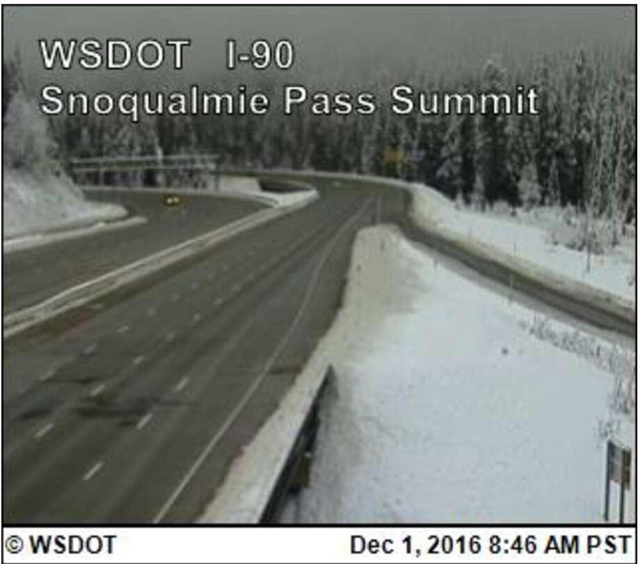 Photo: Wsdot.com/traffic/passes/snoqualmie