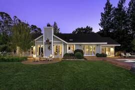 1070 Castle Road in Sonoma is a three bedroom custom home set on two acres in Sonoma listed for $3.495 million.