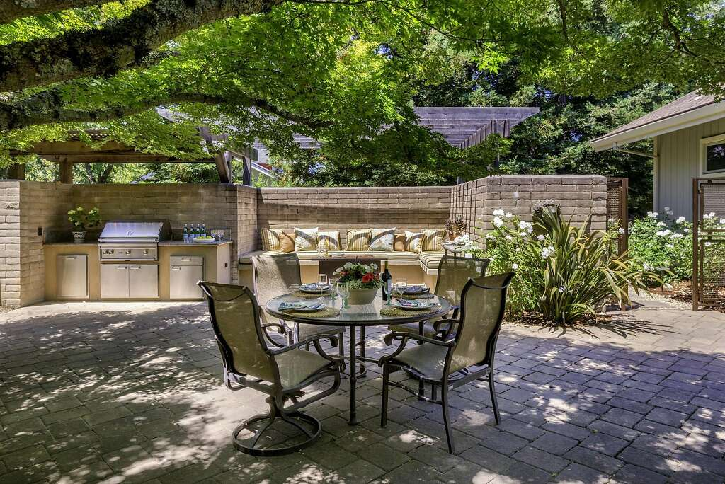 Patios, Sparkling Pool Await Outside Custom Wine Country Home - Sfgate