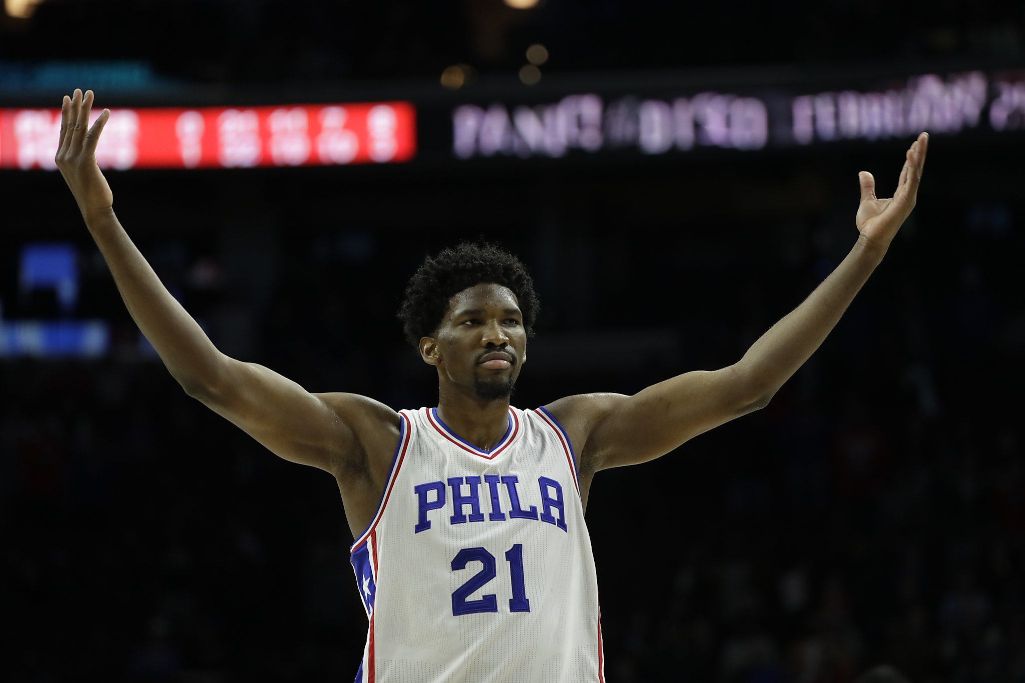 Get Embiid, NBA centers in the All-Star game