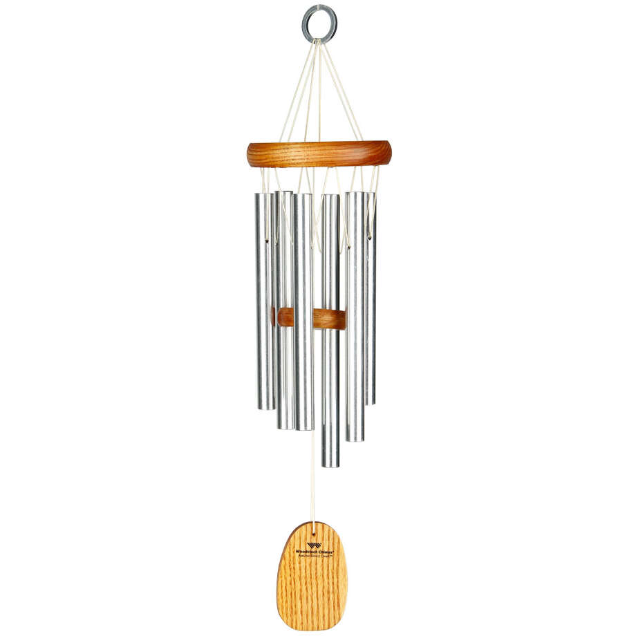 WIND CHIMES Woodstock Wind Chimes will add a relaxing atmosphere to the deck or garden.