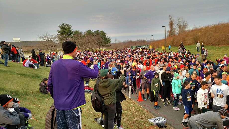 Redding had a record turnout at this year's Great Turkey Escape, raising more than $20,000. Photo: Contributed Photo
