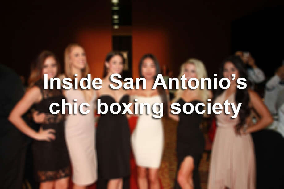 "A boxing charity gala in October 2016 saw area ""celebrity"" boxers fighting for charitable causes.Here's a look inside San Antonio's high-end boxing social scene. Photo: By Kody Melton, For MySA"